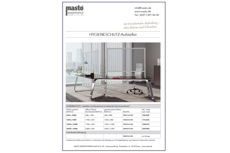 COVID19-MASTO-Schutzaufsteller-Datenblatt